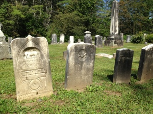 such stories the headstones told