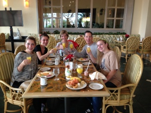 LeBolt family toast to Cancun