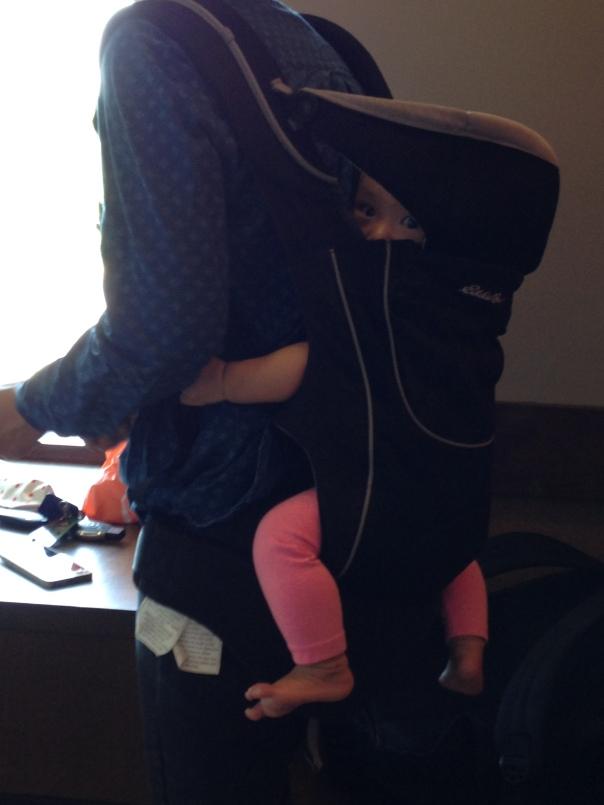 Burqa baby