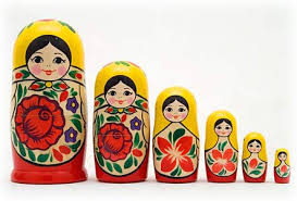 matryoshkna dolls