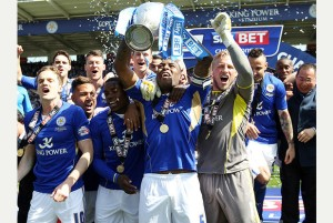 Leicester City Championship Trophy