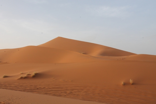 sand sky contrast