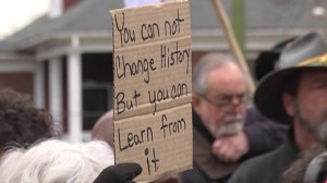 Charlottesville history sign