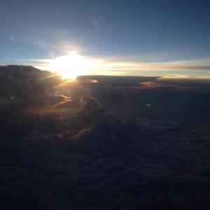 sunrise sky air