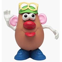 Mr Potato head w glasses
